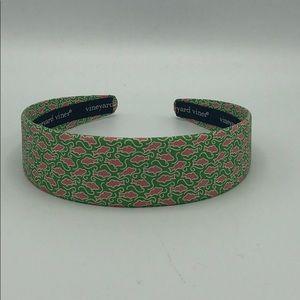 Vineyard Vines Pink and Green Headband